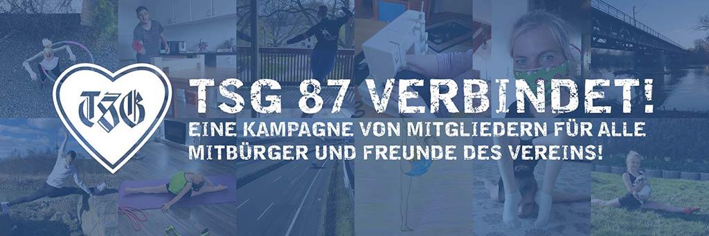 Foto-Collage für Kampagne, TSG 87 verbindet