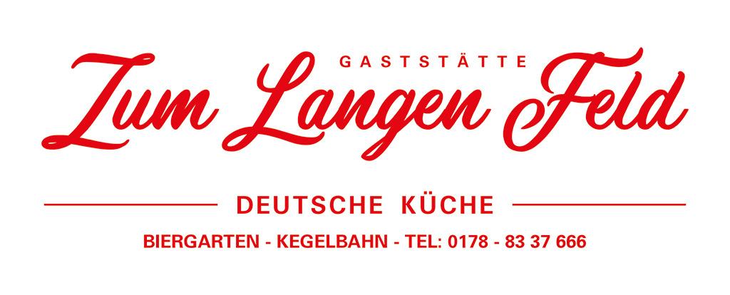 Logo der Gaststätte Zum Langen Feld