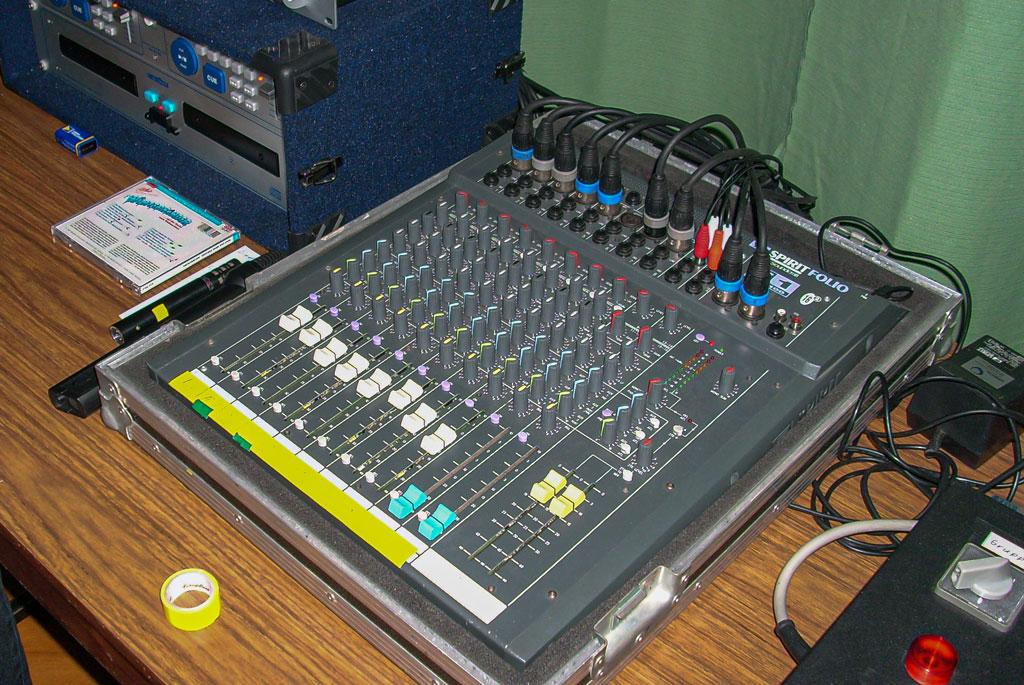 Technik hinter der Bühne 2007
