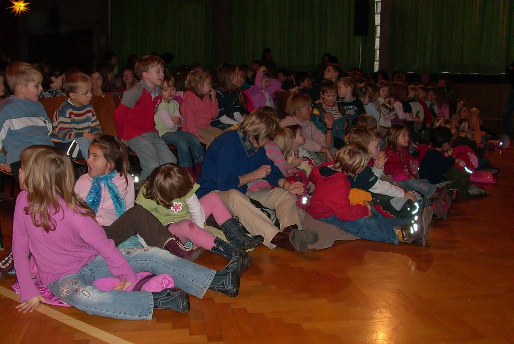 Kurz vor der Vorstellung 2007