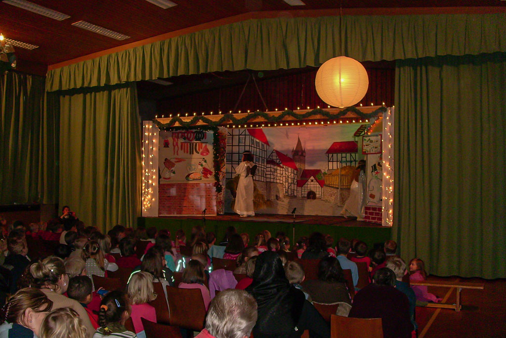 Weihnachtsmärchen Vorstellung 2007
